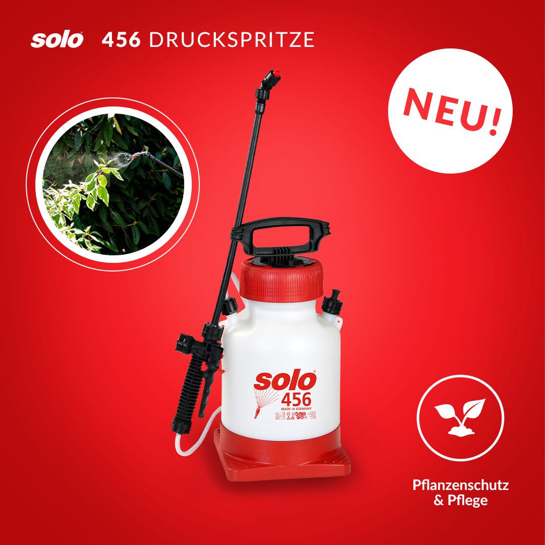 BRANDNEU – SOLO 456 Druckspritze mit Standfuß